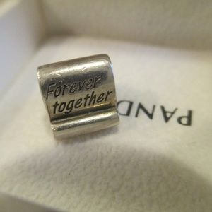 Pandora forever together bead 925 ALE